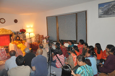 Swamiji founded the Divine club in Minnesota, a satsang center of Jagadguru Kripaluji Maharaj