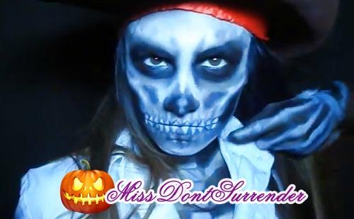 Recopilatorio maquillajes de halloween - Maquillaje pirata nina ...