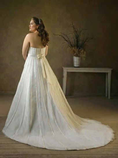 Divinos vestidos de novias para gorditas | Curvas con elegancias