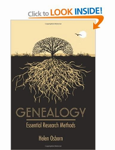 Full Circle Family History Blog: 5 on a Friday - Genealogy Books Genealogy:Essential Research Methods by Helen Osborn