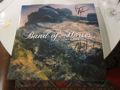 Band of Horses Mirage Rock vinyl signerad