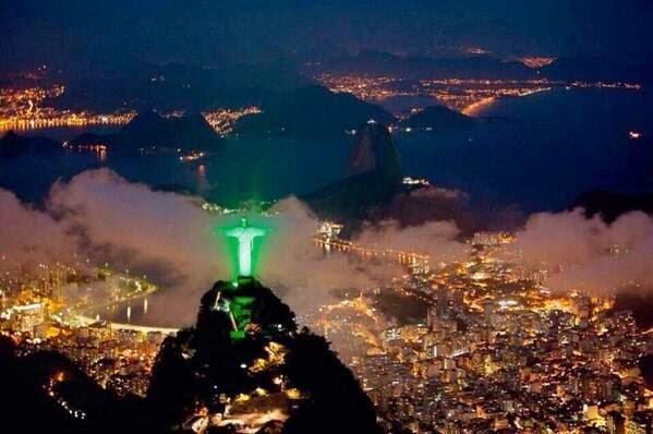 La #olaverde también en Brasil