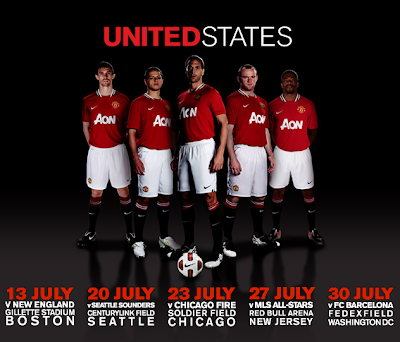 manchester united pre season 2011, manchester united US tour 2011,man utd pre season tour 2011,manchester united vs barcelona 2011