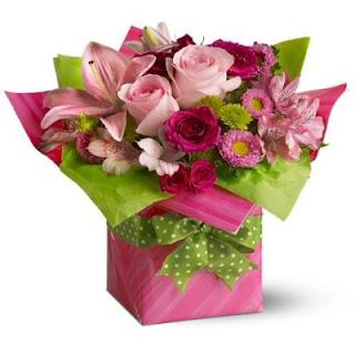 Send a Birthday Present of Flowers
