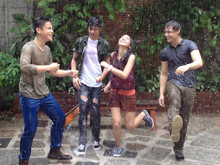 Khalil Ramos, Daniel Padilla, Kathryn Bernardo and Enrique Gil of Princess and I