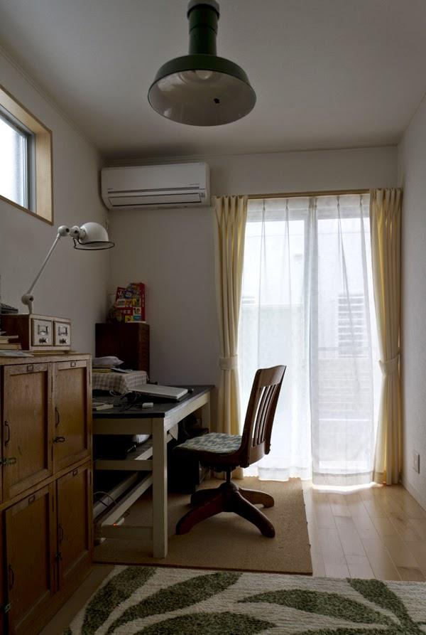 大人部屋のカーテン