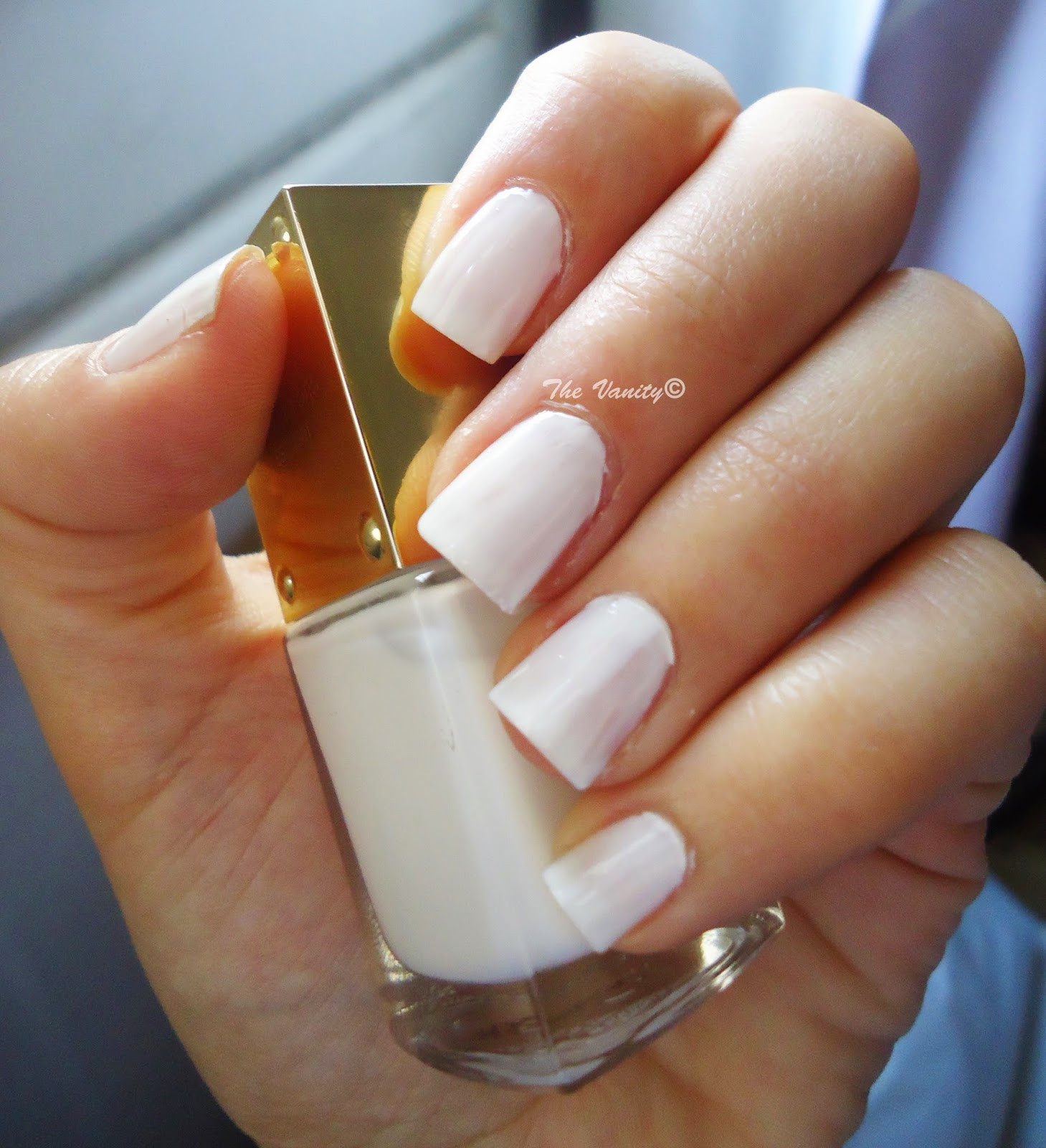I Am Not A Fan Of The Full Opacity White On My Nails That Is Why Ped With Only Two Coats Which Looked More Feminine To Me