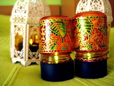 Solarne svetiljke u svecnjaku, umesto sveca