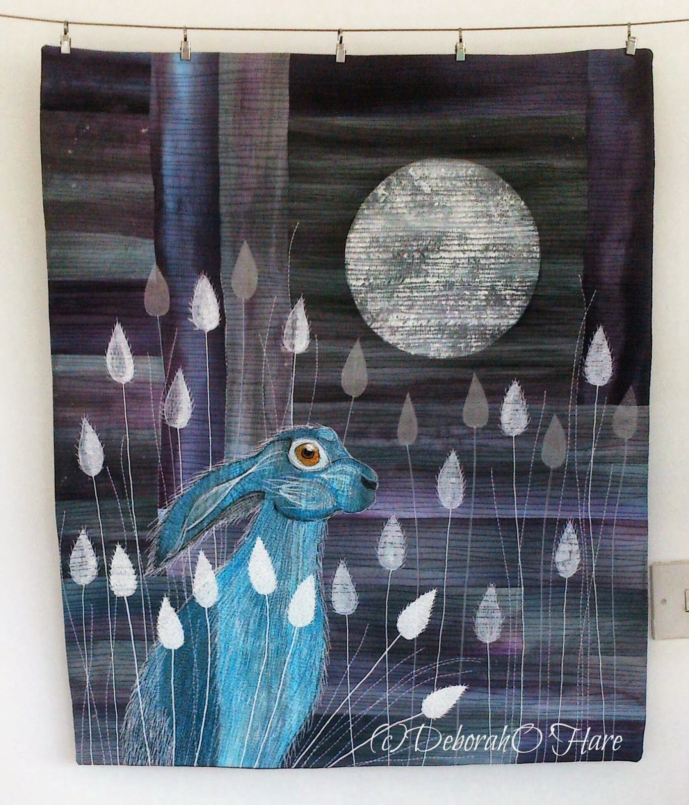 moon gazing hare