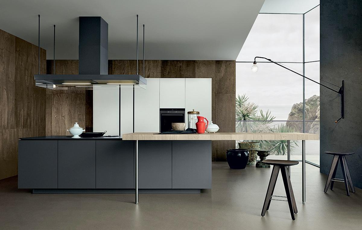 La cocina y los colores neutros cocinas con estilo for Maderas para cocinas