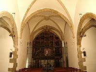 Interior del Santuari del Corredor