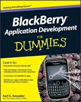 BlackBerry Application Development for Dummies Free Book Download