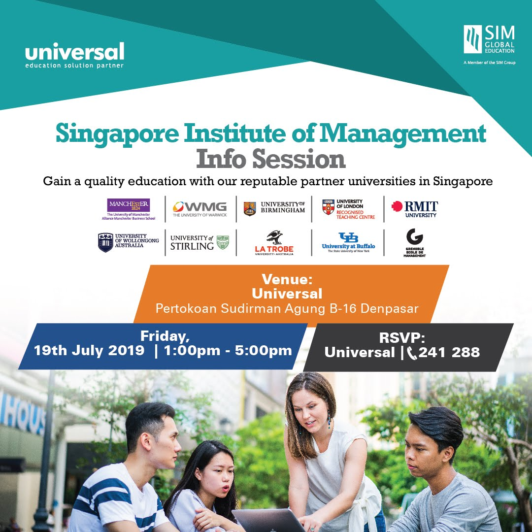 Info session - Singapore Institute of Management (SIM)