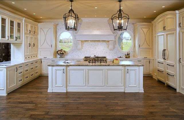 Peonies and orange blossoms wonderful white kitchens for White french country kitchen ideas