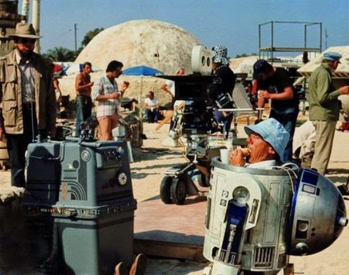 Ultimate Collection Of Rare Historical Photos. A Big Piece Of History (200 Pictures) - Star Wars set at lunchtime