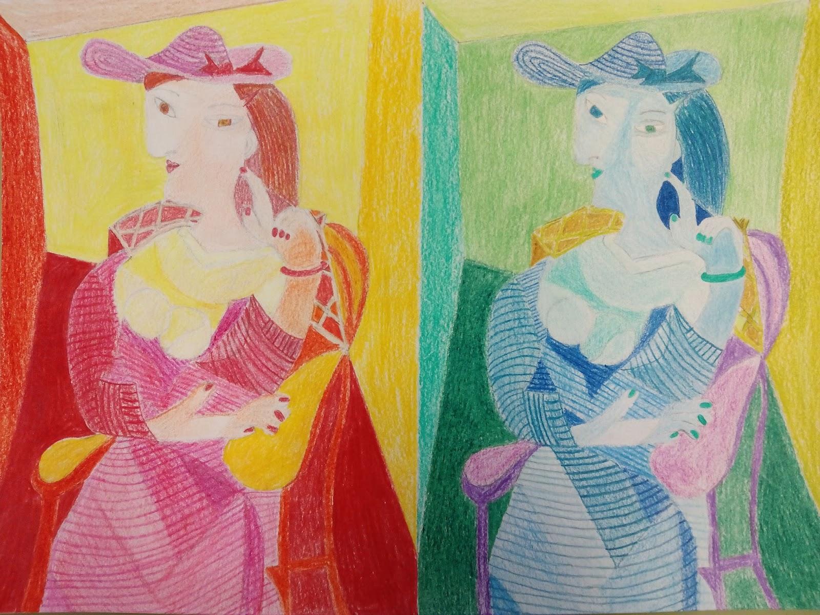 Blog de pl stica del ies castilla 2014 2015 colores fr os - Gama colores frios ...