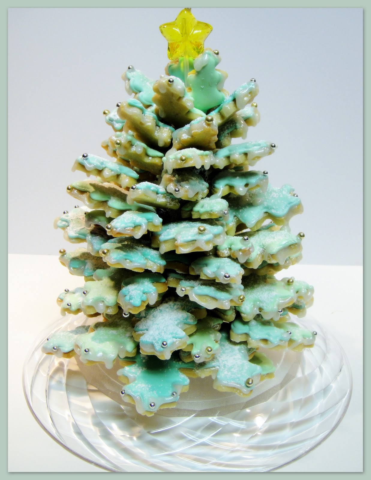 Decorating and sugar art tutorials key lime cookie tree centerpiece