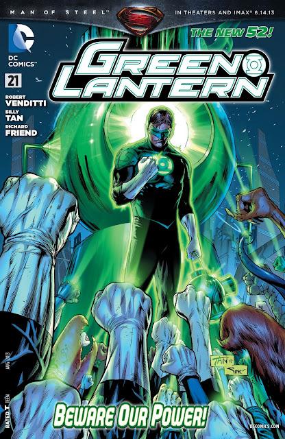 Green Lantern #21 New 52 Comic DC descarga gratis