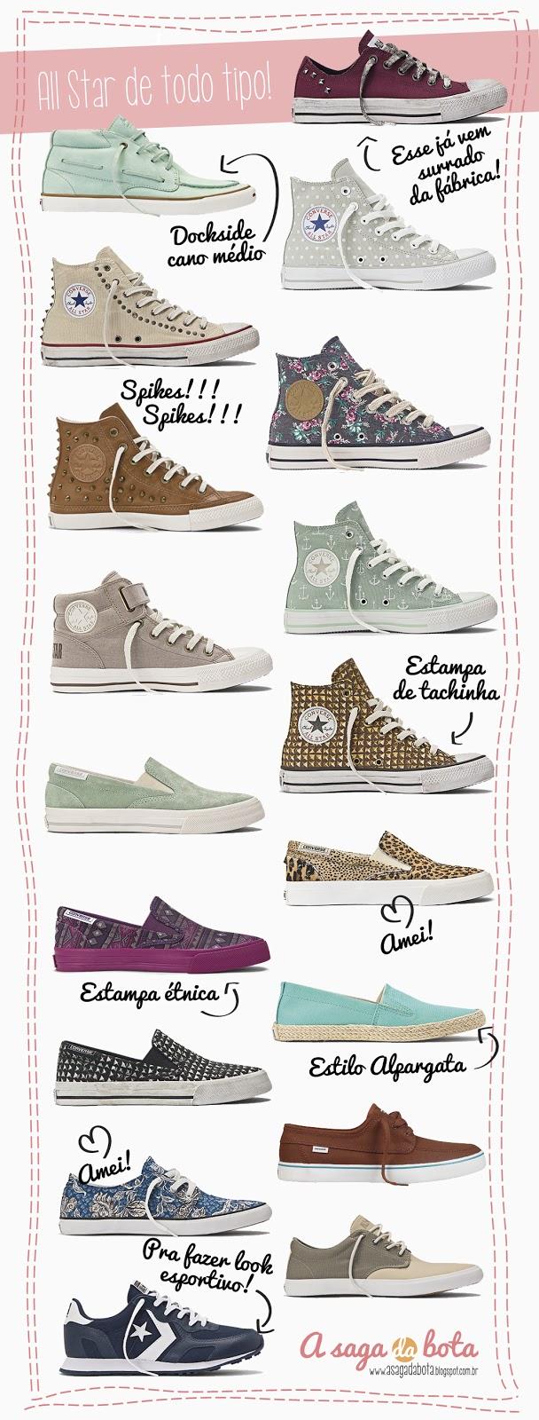 moda, fashion, couro, cano médio, tachinhas, estampado, liso, surrado, esportivo, tendência, ancora, dockside cano médio, cano curto, velcro, tênis, inspiração