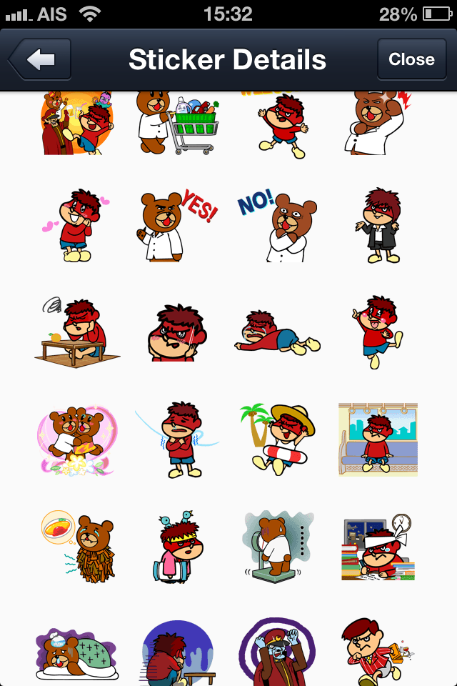 Secret society Eagle Talon Vol.2 line stickers