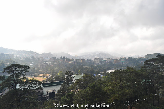 View taken from SM Baguio