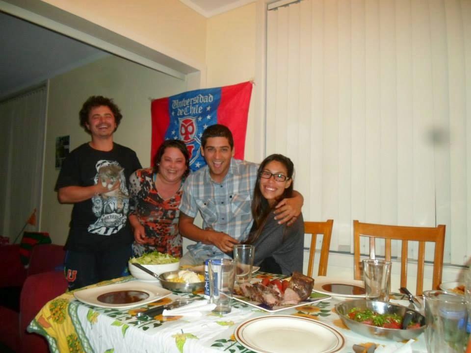 Con amigos chilenos en nueva zelanda | Bitácoras Viajeras
