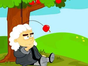Isaac Newton Gravity Apple