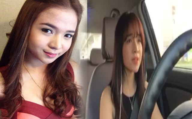 singing in the car video of Kristel Fulgar