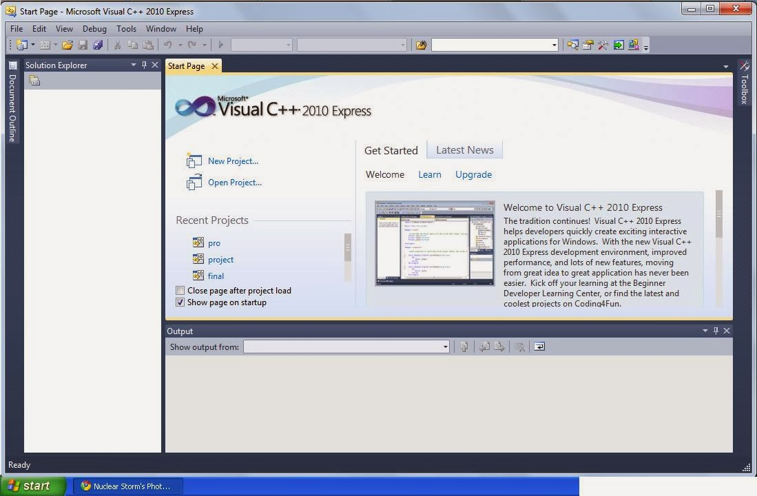 Microsoft Visual C++ 2010 SP1