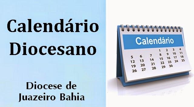 CALENDÁRIO DIOCESANO - 2015