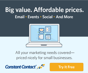Try Constant Contact for Free!