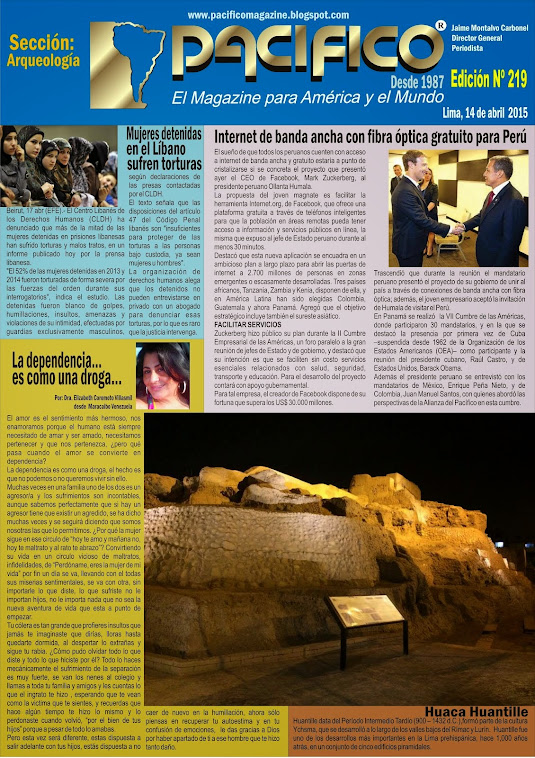 Revista Pacífico Nº 219 Arqueología