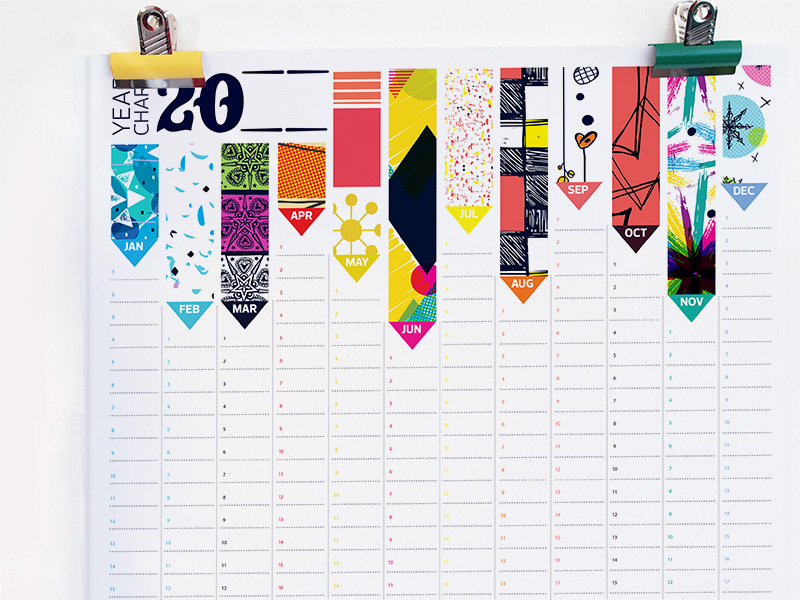Calendar For Typography Nerds : Judy adamson s art design interview with brightly