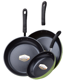 Ozeri 3 Piece Frying Pan Set