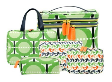 Target Addict: New at Target: Orla Kiely Spring Cosmetic Bags