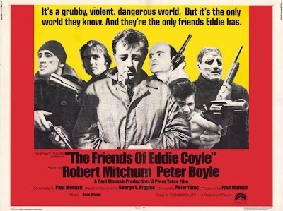 The Friends of Eddie Coyle (released in 1973) - Starring Robert Mitchum and Peter Boyle