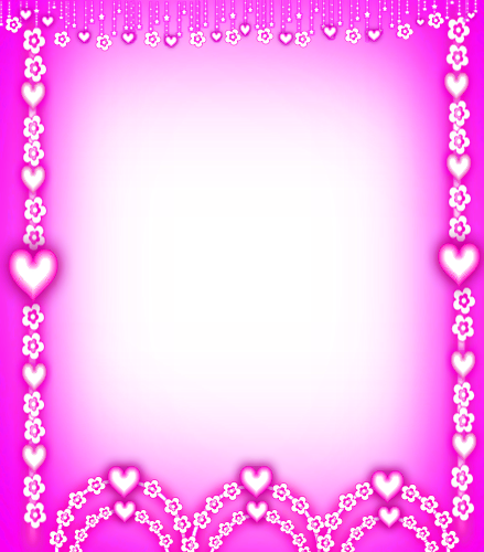 flower and heart frame | Sonia|editor