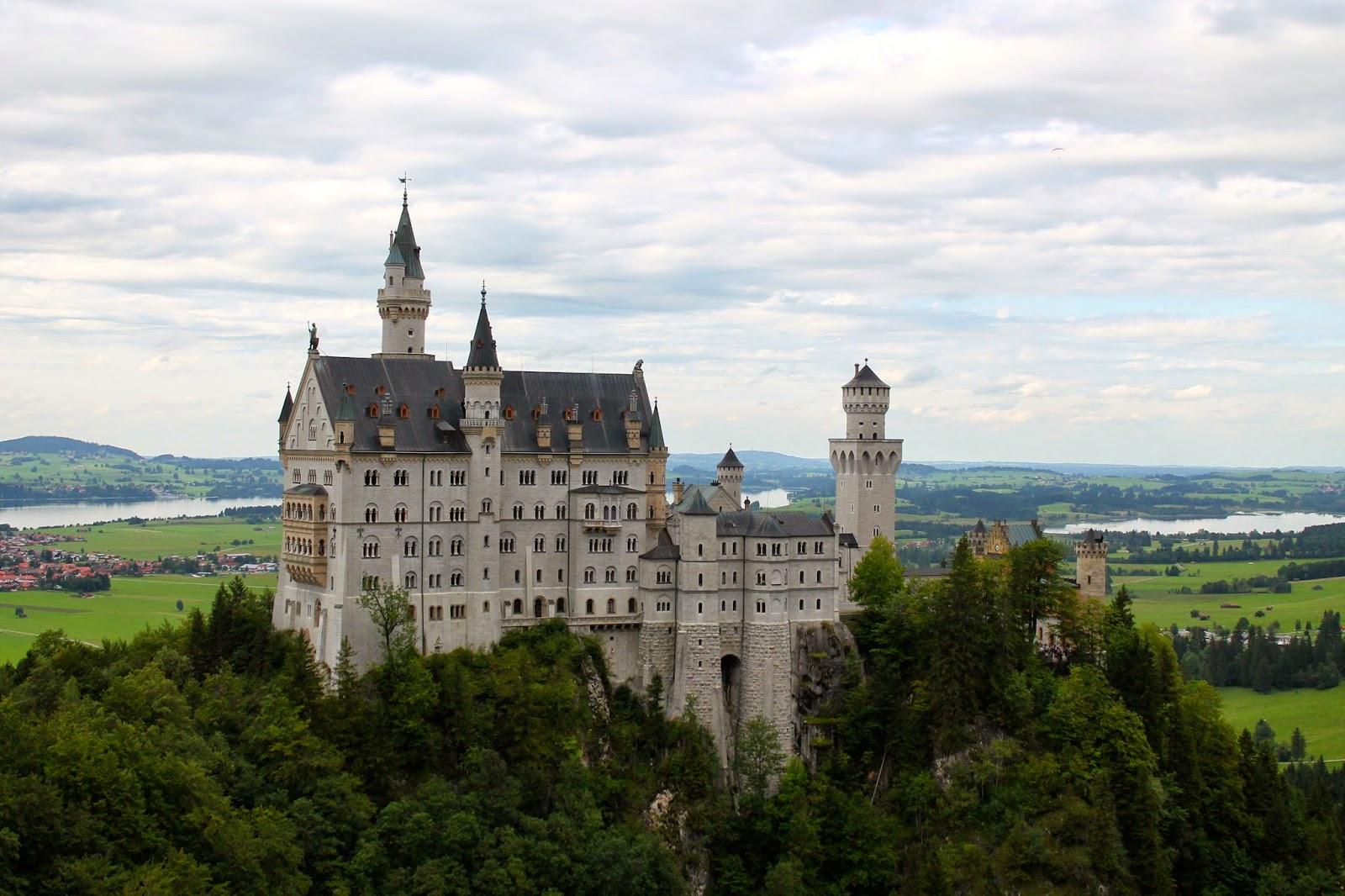 Castillo de Neuschwanstein. ¡Munich! en Hitzen Mundua