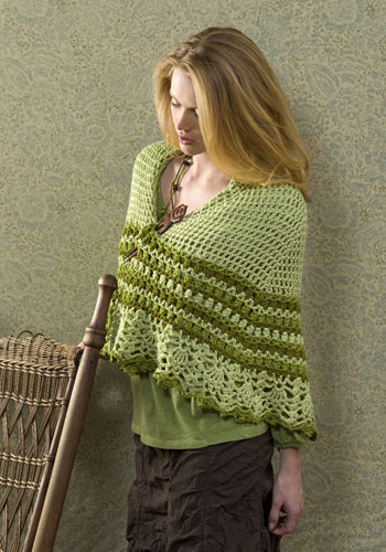 Crochet Pattern For Nursing Shawl : The Sunroom UK: Guadalupe Wrap?Free Crochet Pattern
