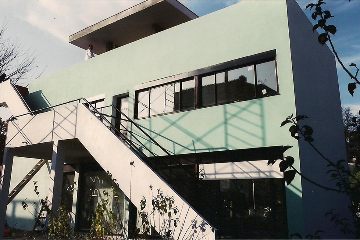 Historia de la arquitectura moderna barrio pessac 1925 for Historia de la arquitectura moderna
