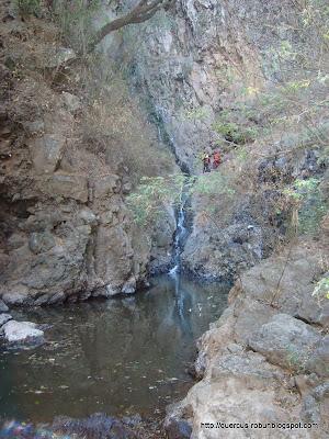 Tobogán en el Cañón de Matatlán