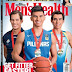 Sea Games Champions Kiefer Ravena, Jake Letts, and Nikko Huelgas on the Cover of Men's Health Magazine