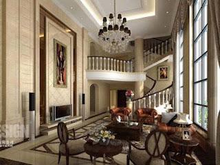 Classic Living Room Interior Design Photo
