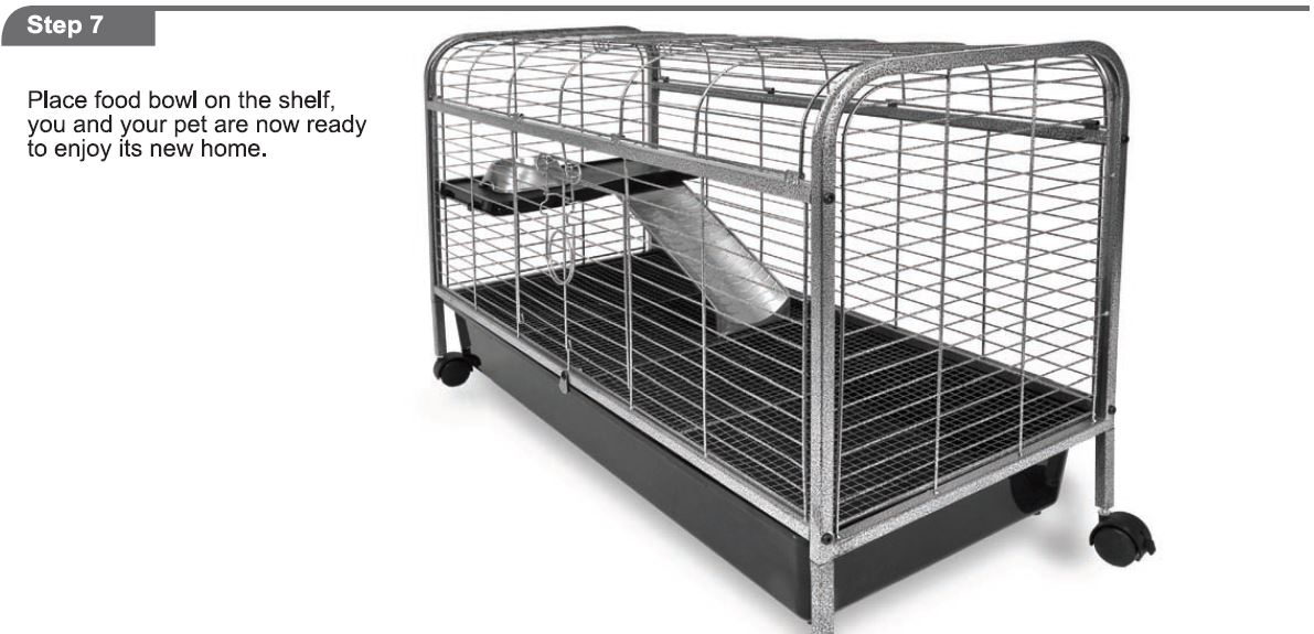 Critter Cages Blog Living Room Series Rabbit Home By Ware Mfg Assembly Instructions