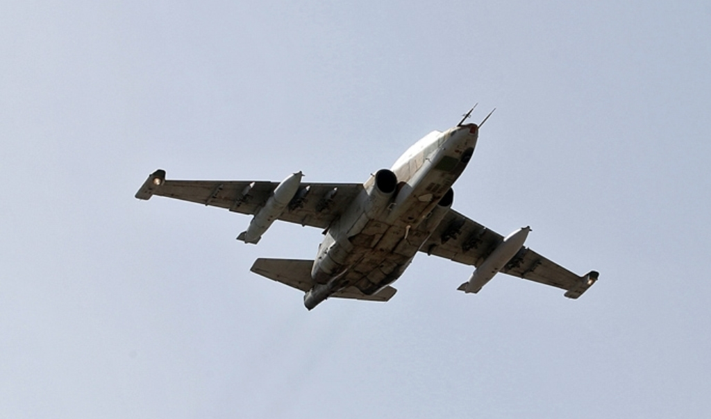 Iranian Su 25 Fighter Jet Fired At US Predator Drone On Spy Mission