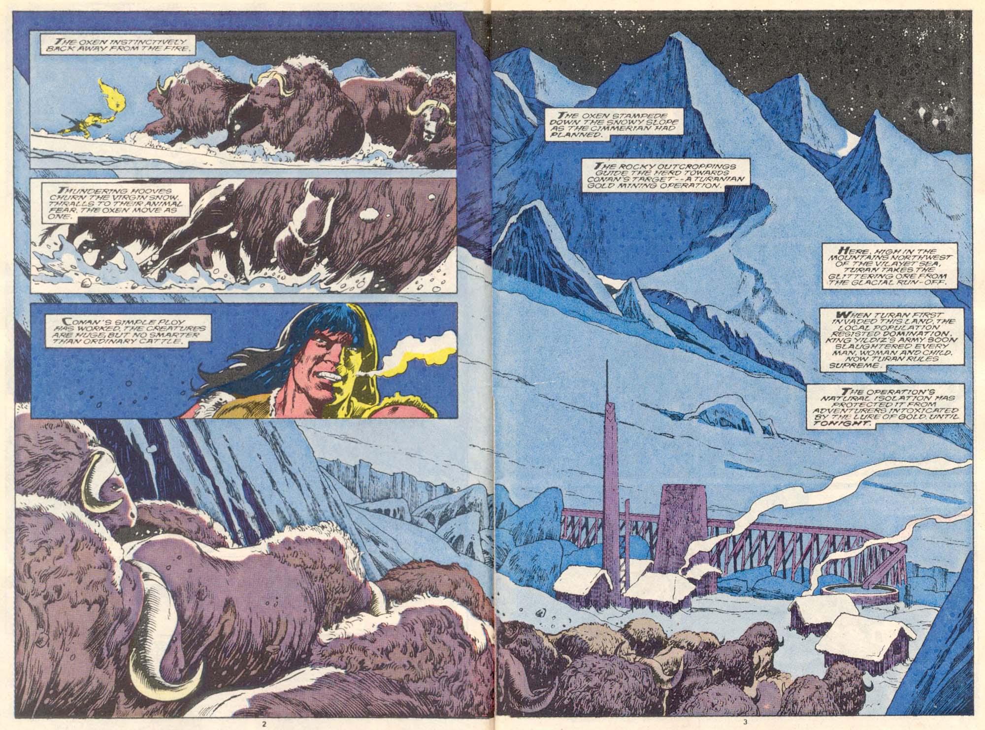 Conan the Barbarian (1970) Issue #220 #232 - English 3