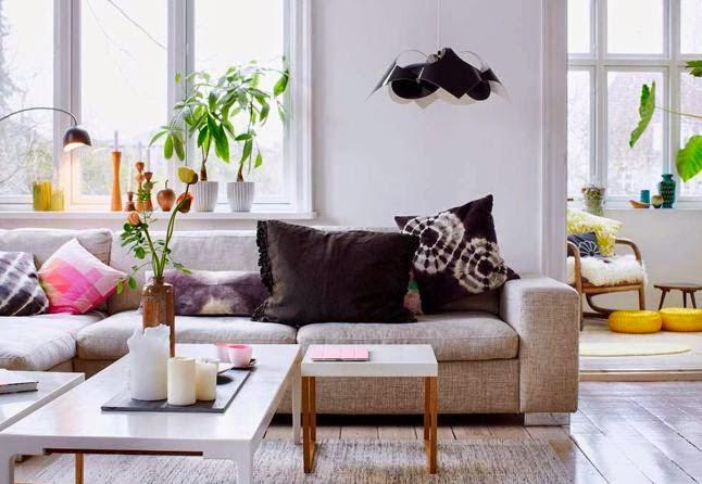 Decoraci n f cil el secreto de los colores vivos en el - Decoracion estilo escandinavo ...