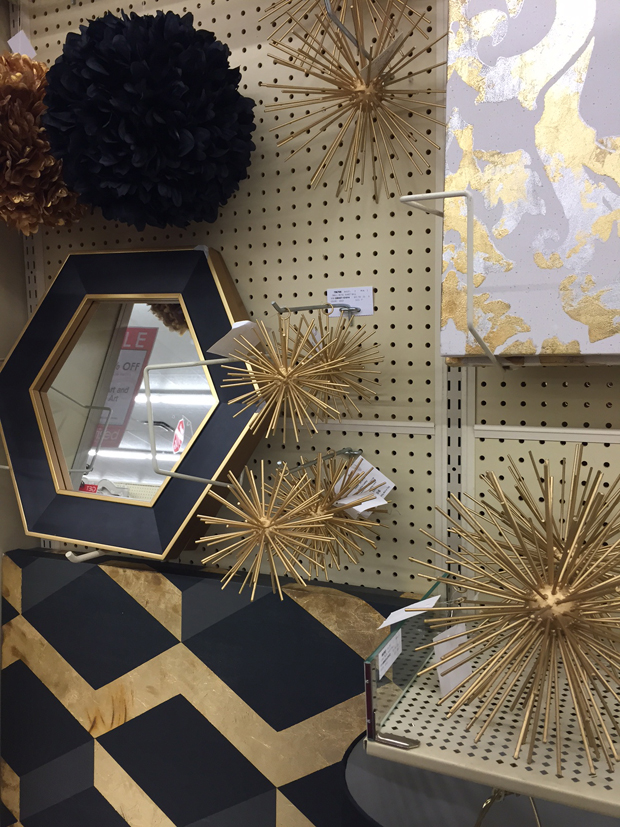 Hobby lobby gold wall decor