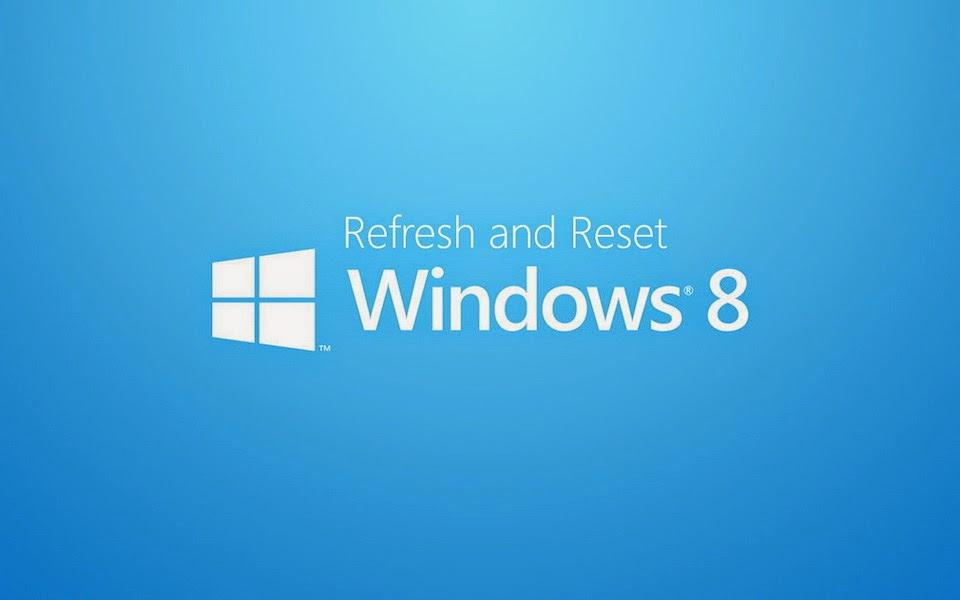 windows 8 reset
