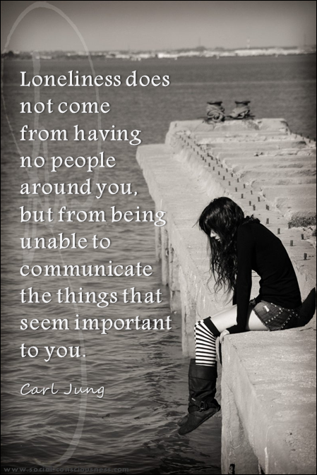 When You Feel Lonely Quotes. QuotesGram